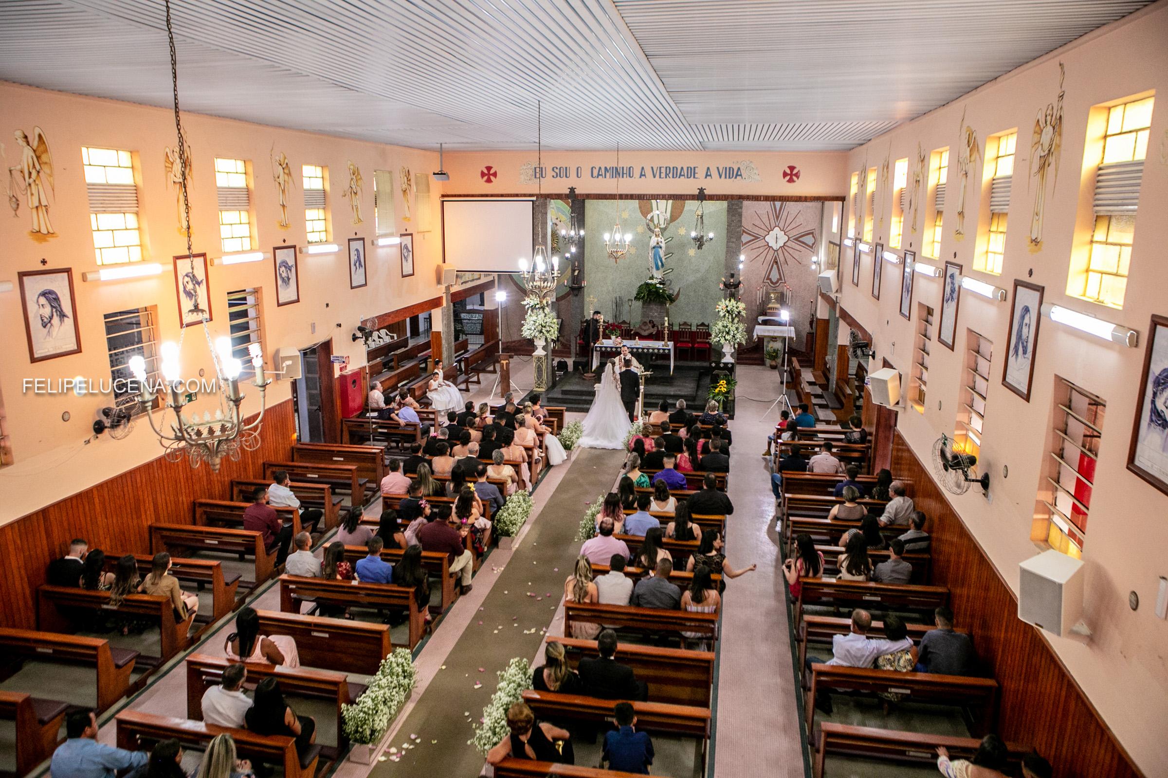 Casamento Anna Clara e Fernando- Garca - Monte Libano - igreja