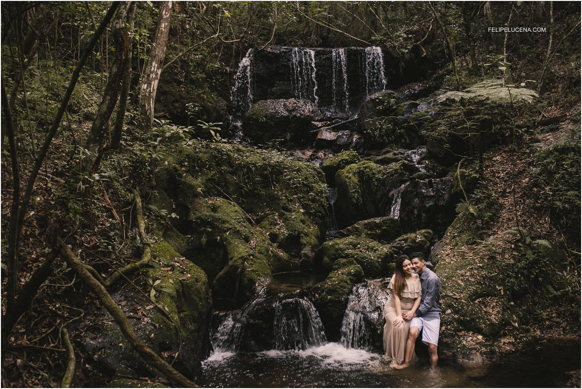 noivos cachoeira