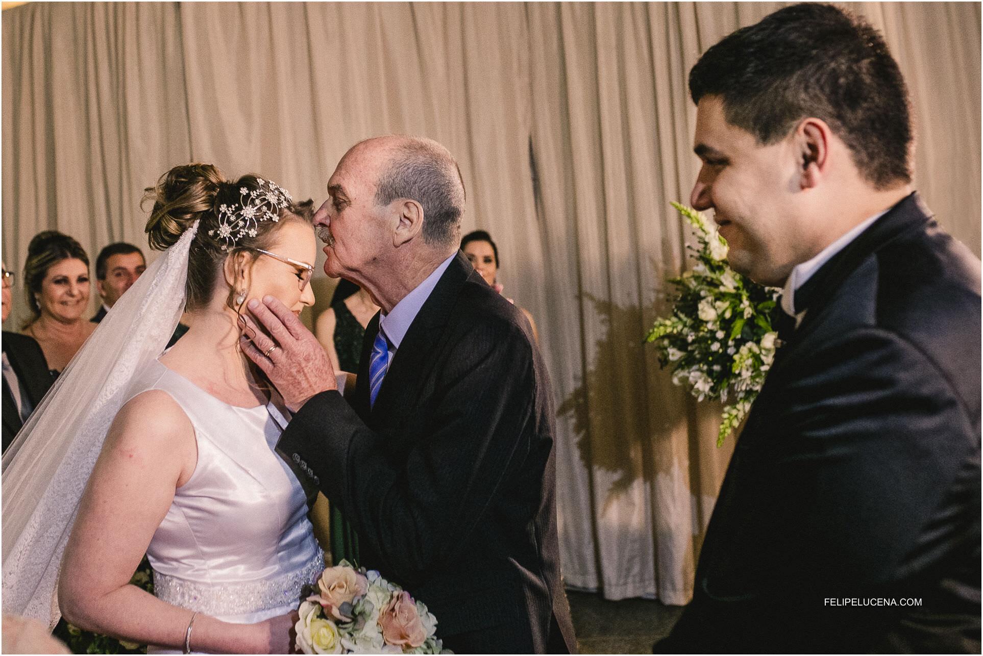 pai e a noiva