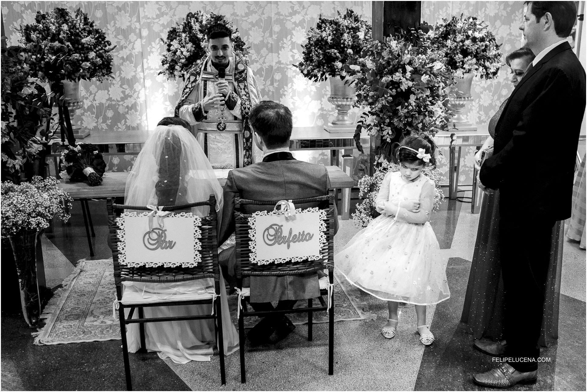 crianca no casamento